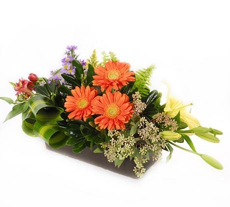 La fleur floreria envio el mismo dia peque o jard n for Arreglo de jardines pequenos