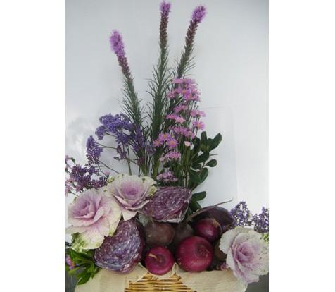 La Fleur Floreria Envio El Mismo Dia Arreglo Verduras