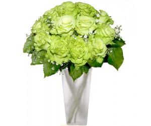 Ramo de Rosas Verdes