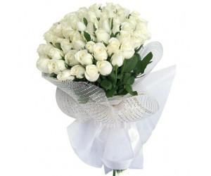Ramo de 48 Rosas Blancas