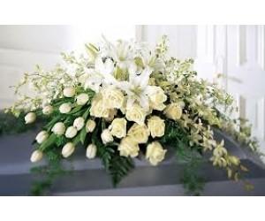 Cubre Caja con flor fina